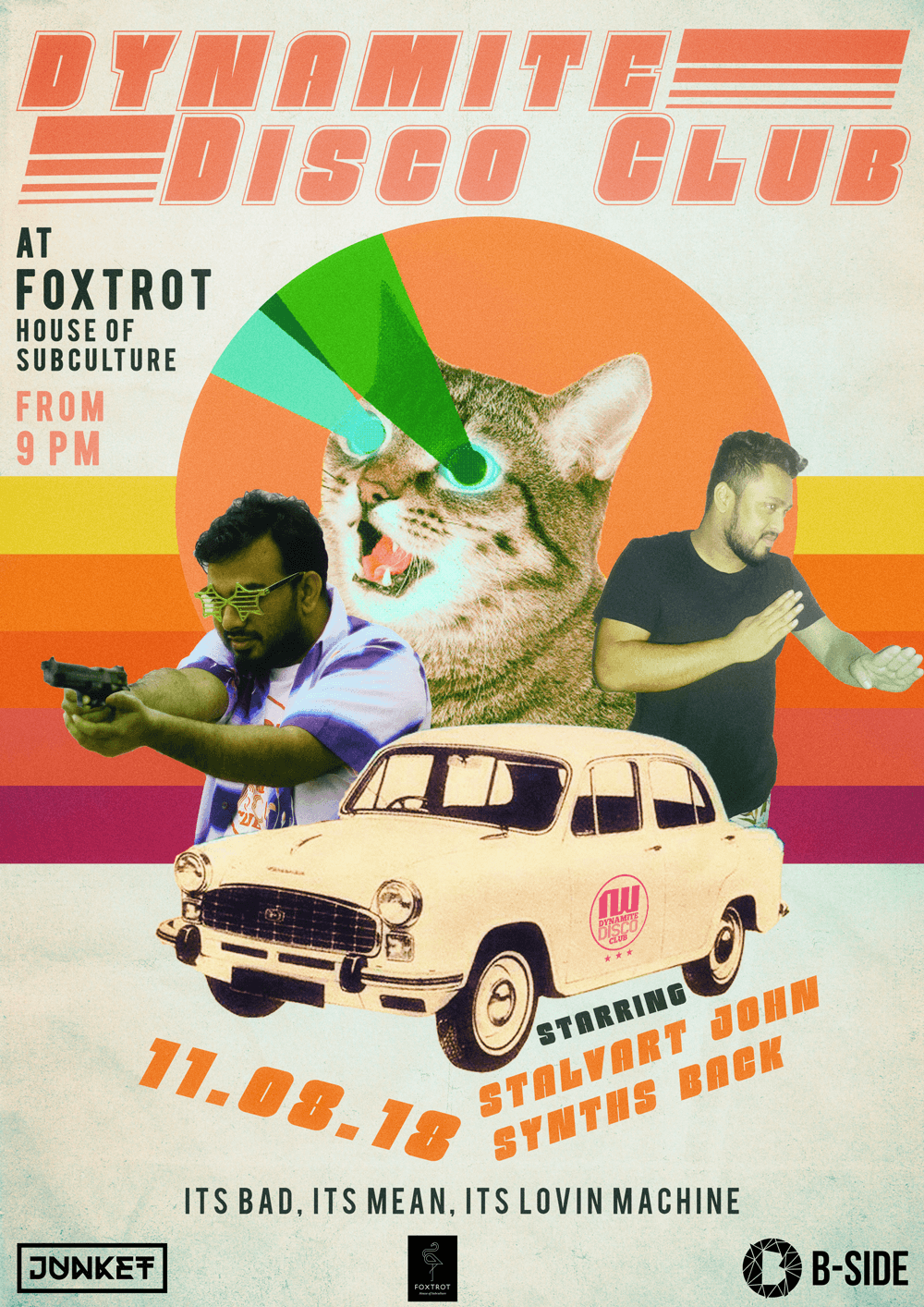 Dynamite Disco Club - Foxtrot